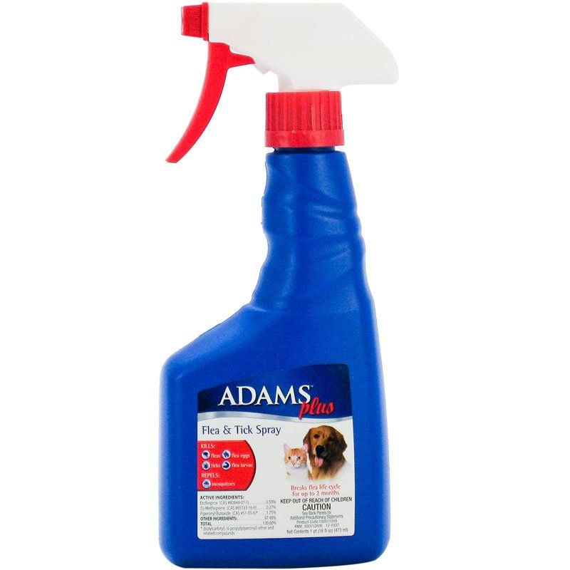 Adams Flea & Tick Spray Plus Precor