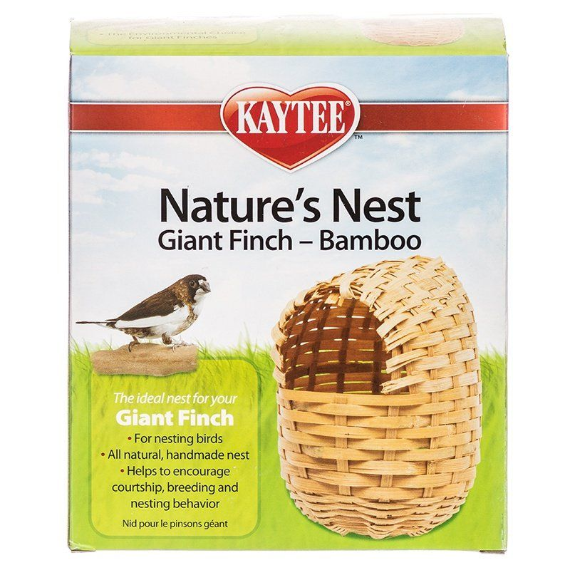 Kaytee Nature's Nest Bamboo Nest - Finch