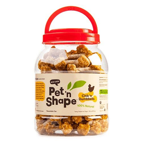 Pet 'n Shape Chik 'n Dumbbells Dog Treats
