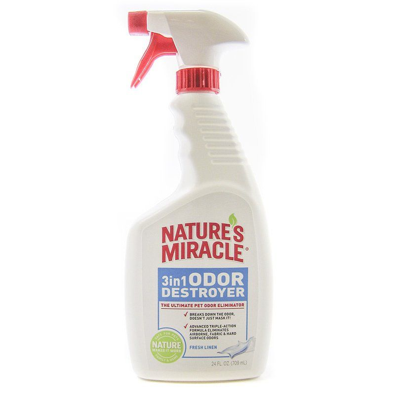 Nature's Miracle 3 in 1 Odor Destroyer - Fresh Linen Scent