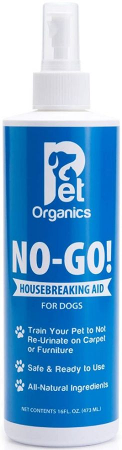 Pet Organics No-Go Housebreaking Aid Spray