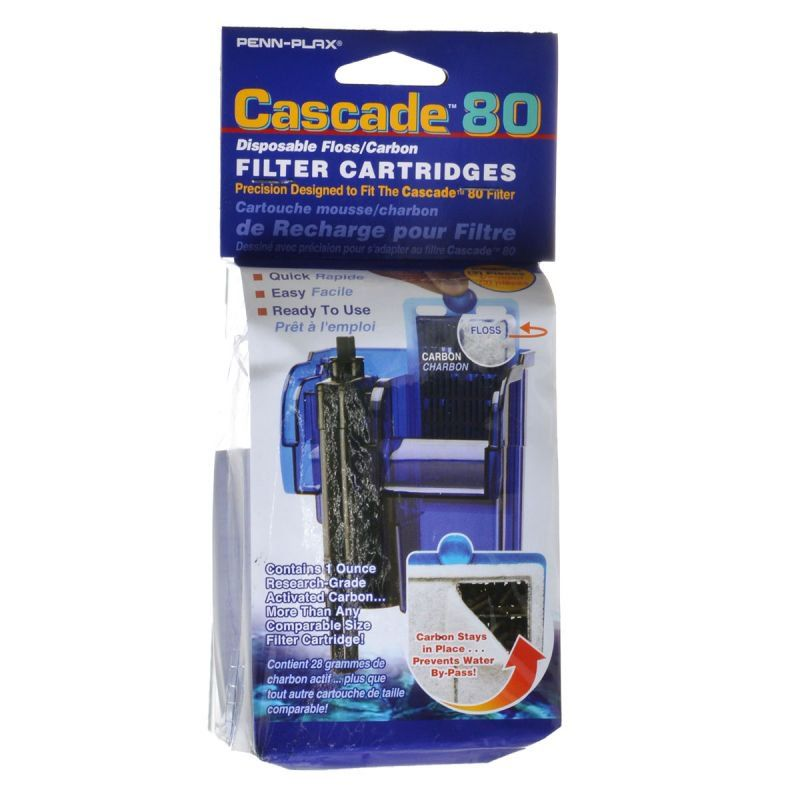 Cascade 80 Disposable Floss & Carbon Power Filter Cartridges