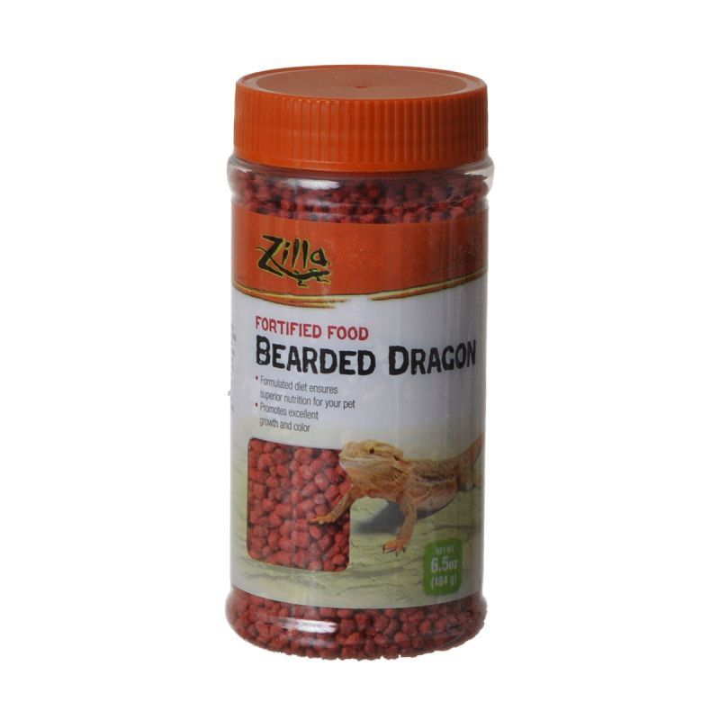 Zilla Bearded Dragon Food