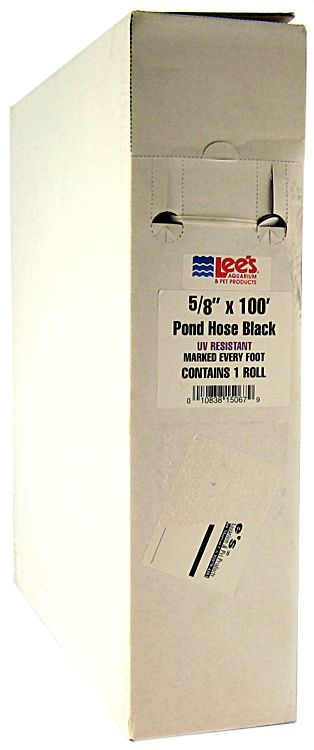 Lees Flexible Pond Tubing - Black