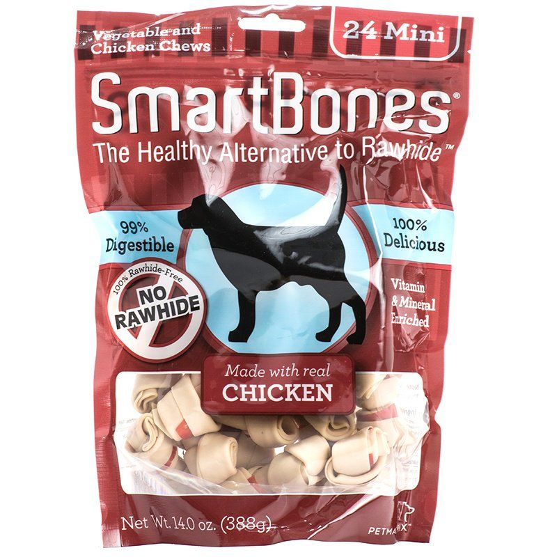 SmartBones Chicken & Vegetable Dog Chews