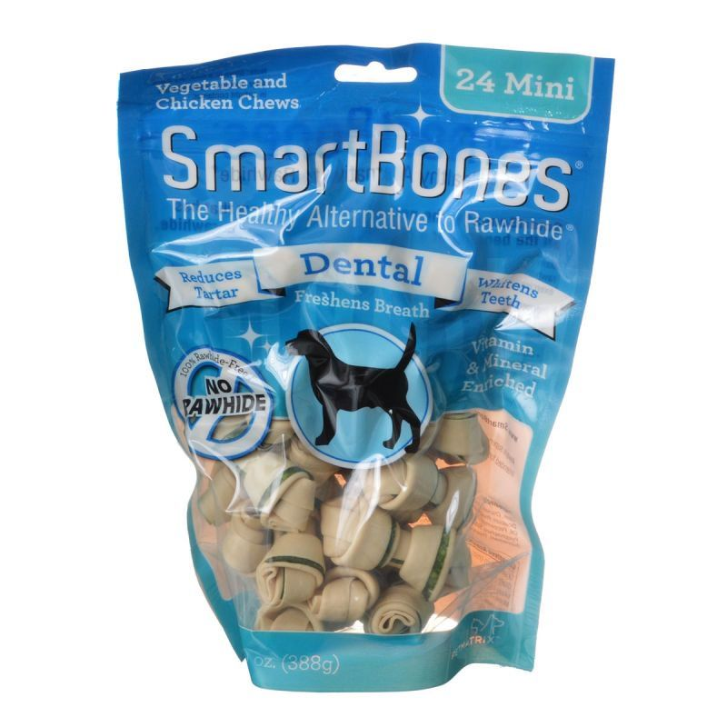 SmartBones Dental Bones - Chicken & Vegetable Dog Chews