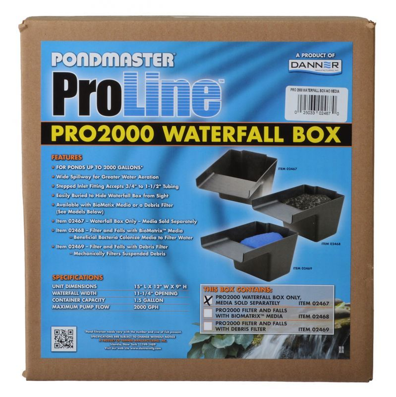 Pondmaster Pro Series Pond Biological Filter & Waterfall