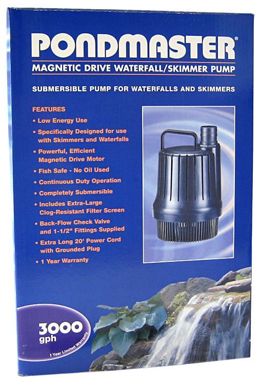 Pondmaster Magnetic Drive Waterfall Pump