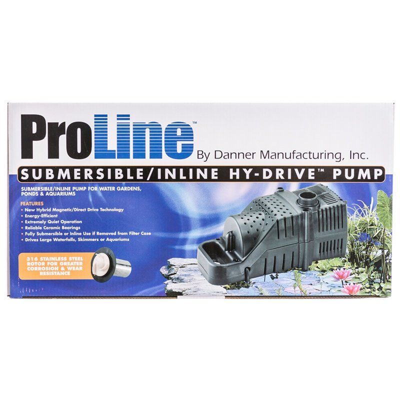 Pondmaster ProLine Submersible/Inline Hy-Drive Pump