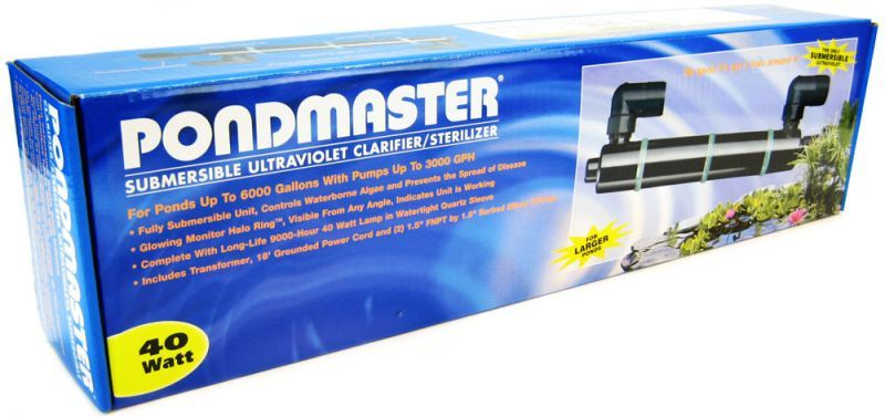 Pondmaster Submersible Ultraviolet Clarifier & Sterilizer