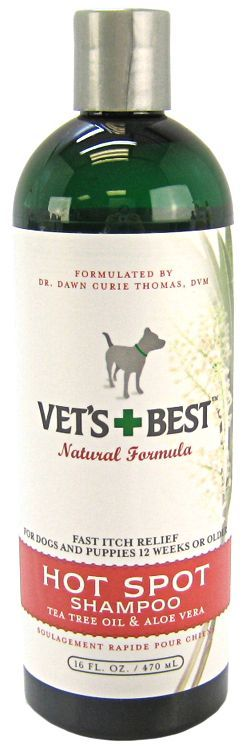 Vets Best Hot Spot Itch Relief Shampoo for Dogs