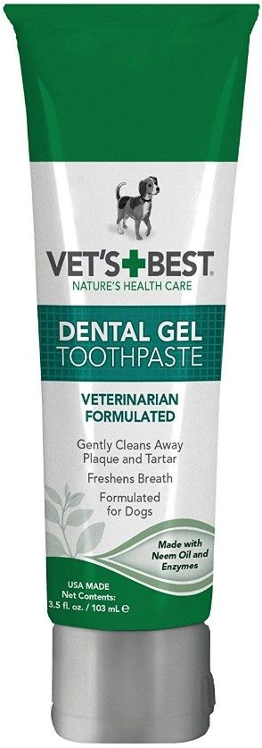 Vets Best Dental Gel Toothpaste for Dogs