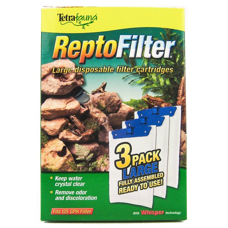 Tetrafauna ReptoFilter Disposable Filter Cartridges