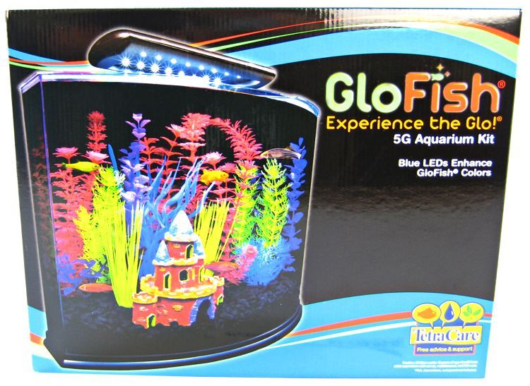 GloFish Aquarium Kit with LED Lighting