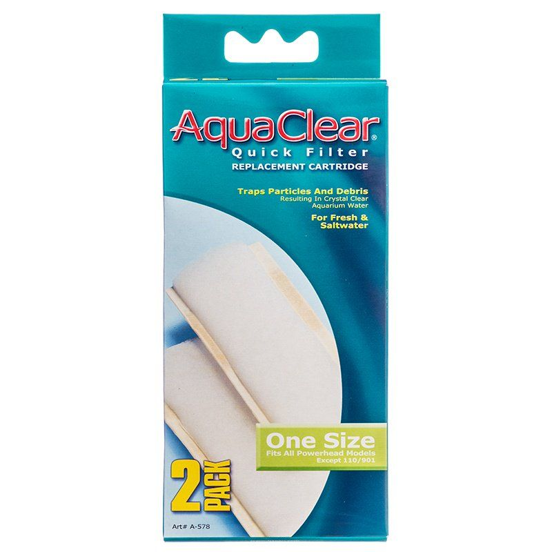 Aquaclear Quick Filter Replacement Cartridge