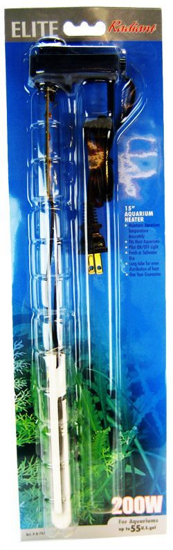Elite Radiant Compact Aquarium Heater