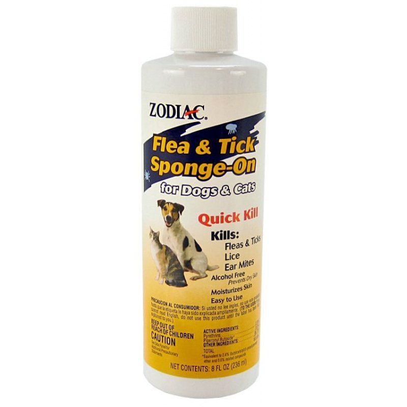Zodiac Flea & Tick Sponge-On for Dogs & Cats
