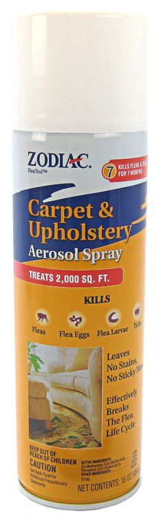 Zodiac Carpet & Upholstery Aerosol Flea Spray