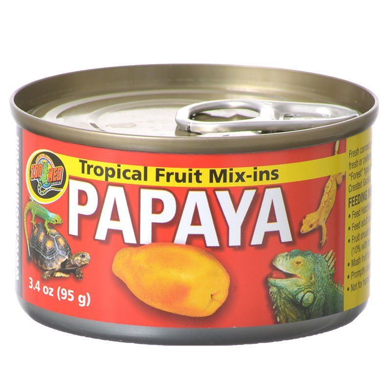Zoo Med Tropical Friut Mix-ins Papaya Reptile Treat
