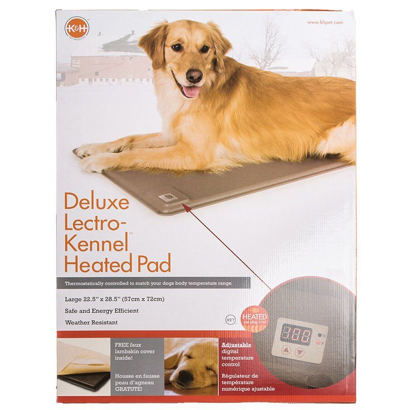 K & H Lectro-Kennel Heated Pad - Delux