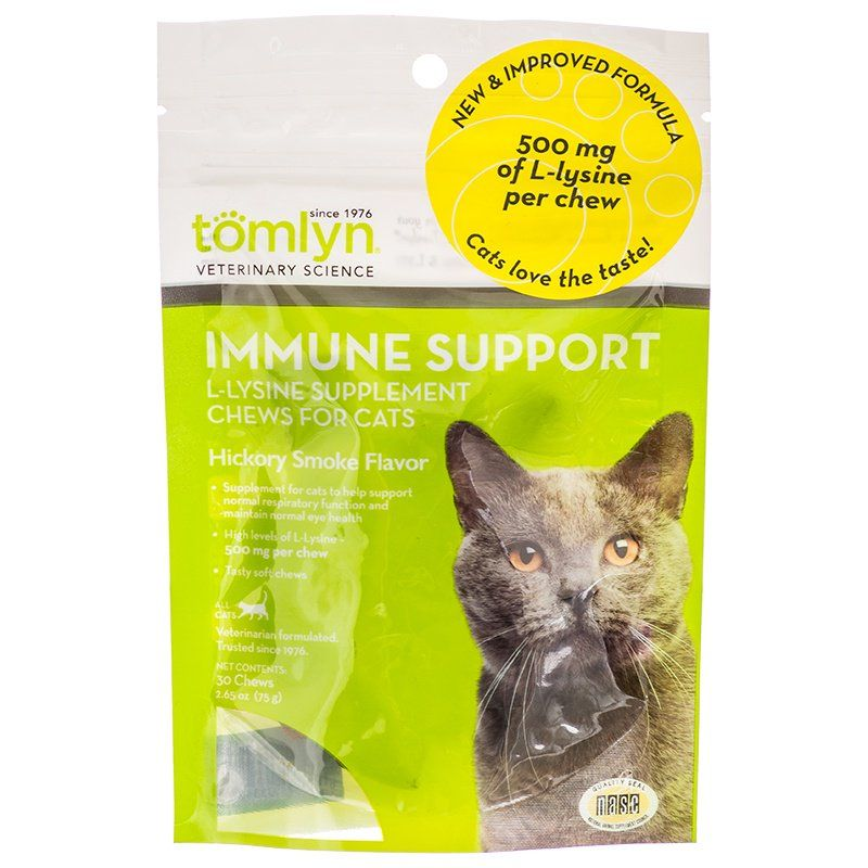 Tomlyn Immune Support L-Lysine Chews for Cats