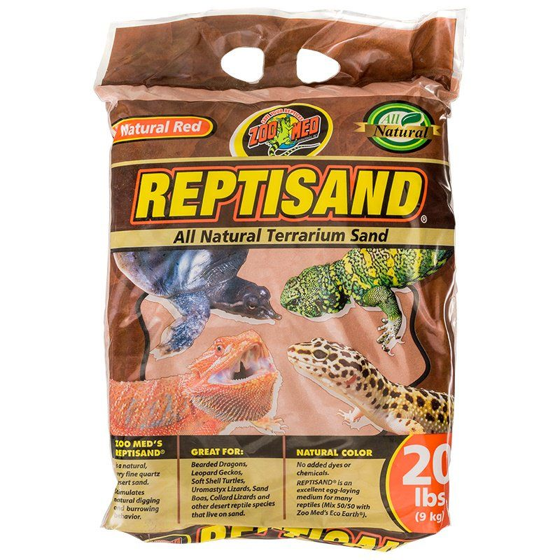 Zoo Med ReptiSand Substrate - Natural Red