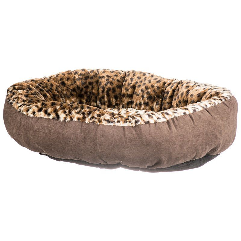 Aspen Pet Round Pet Bedding - Animal Print
