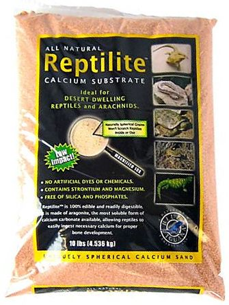 Blue Iguana Reptilite Calcium Substrate for Reptiles - Desert Rose