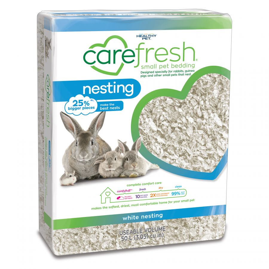 Carefresh Nesting White Small Pet Bedding