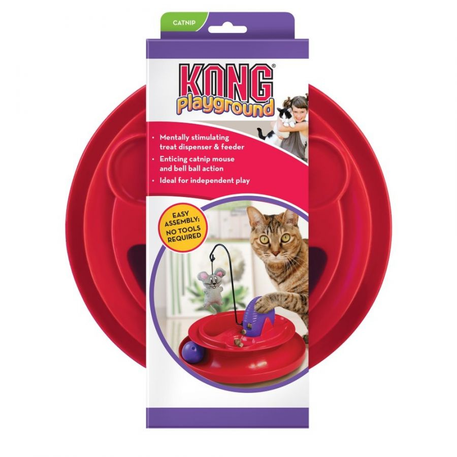 Kong Playground Treat Dispensing Cat Toy