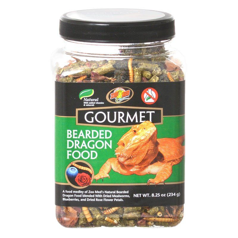 Zoo Med Gourmet Bearded Dragon Food