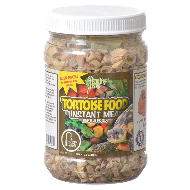 Healthy Herp Tortoise Instant Meal Reptile Food