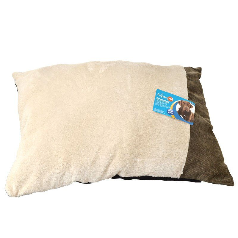 Aspen Pet Corduroy Accent Pillow Pet Bed