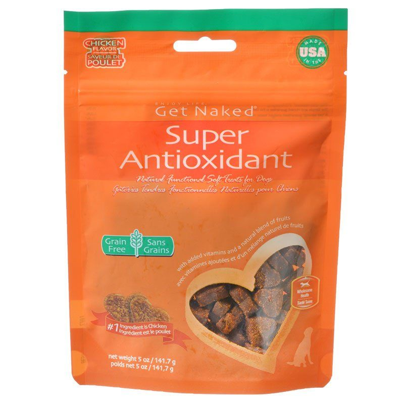 Get Naked Super Antioxidant Soft Dog Treats - Chicken Flavor