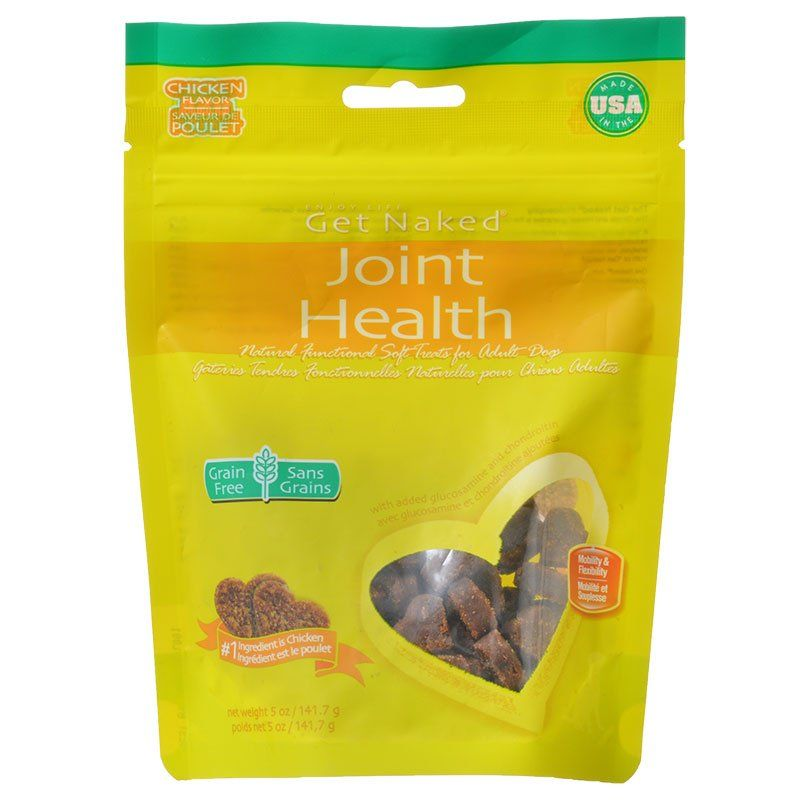 Get Naked Joint Health Soft Dog Treats - Chicken Flavor