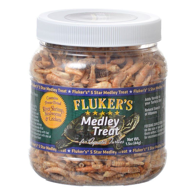 Flukers Medley Treat for Aquatic Turtles