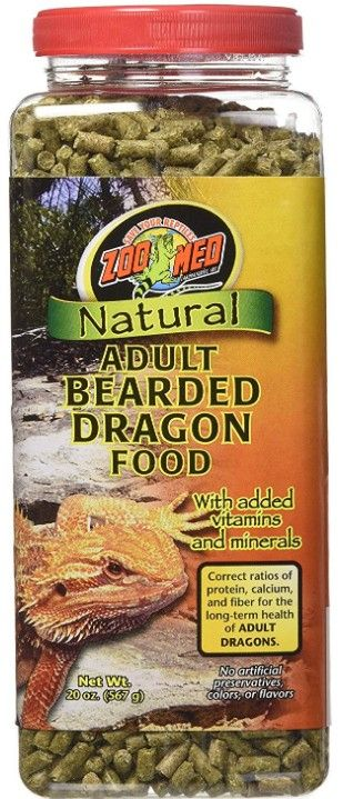 Zoo Med Natural Adult Bearded Dragon Food