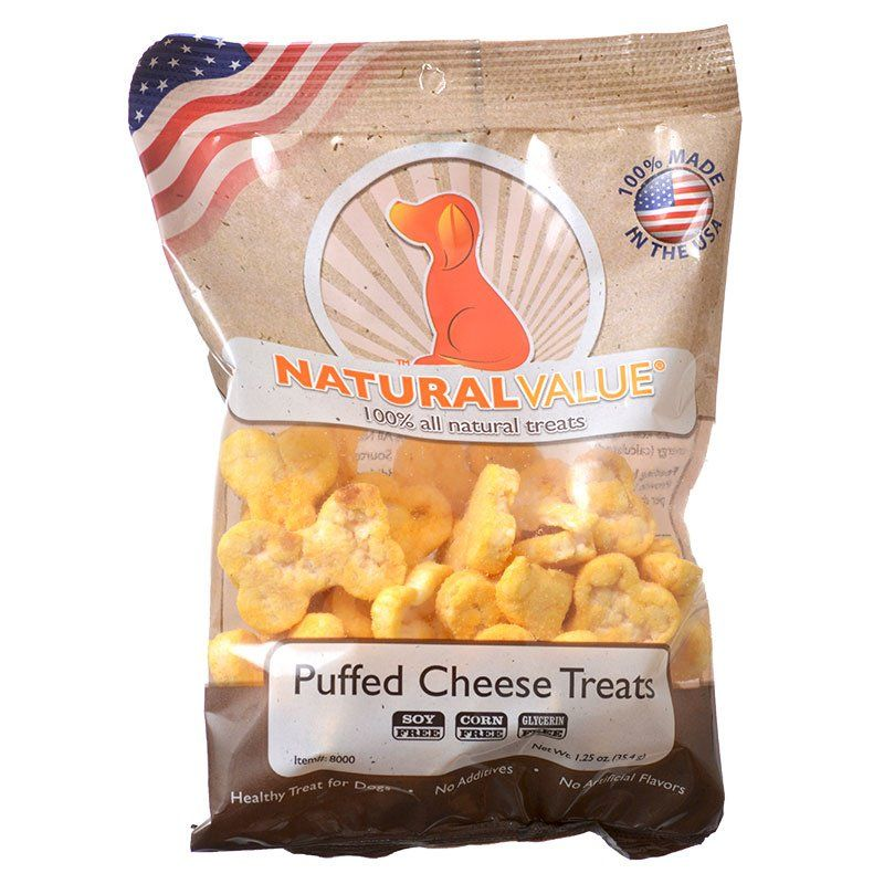 Loving Pets Natural Value Puffed Cheese Treats