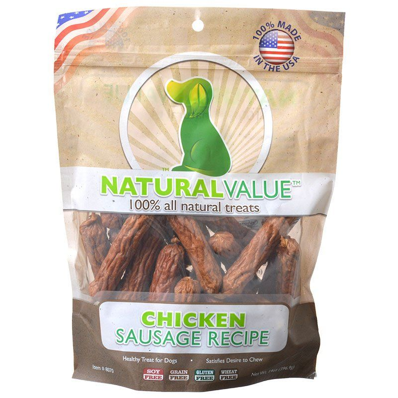 Loving Pets Natural Value Chicken Sausages