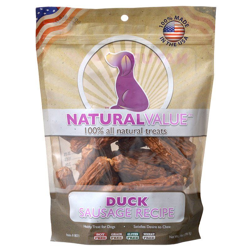 Loving Pets Natural Value Duck Sausages
