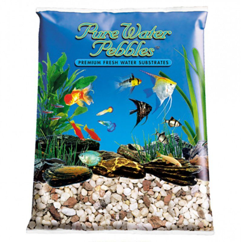 Pure Water Pebbles Aquarium Gravel - Custom Blend