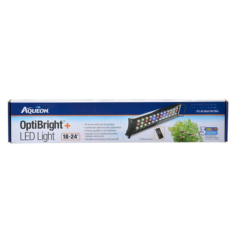 Aqueon OptiBright Plus LED Aquarium Light Fixture