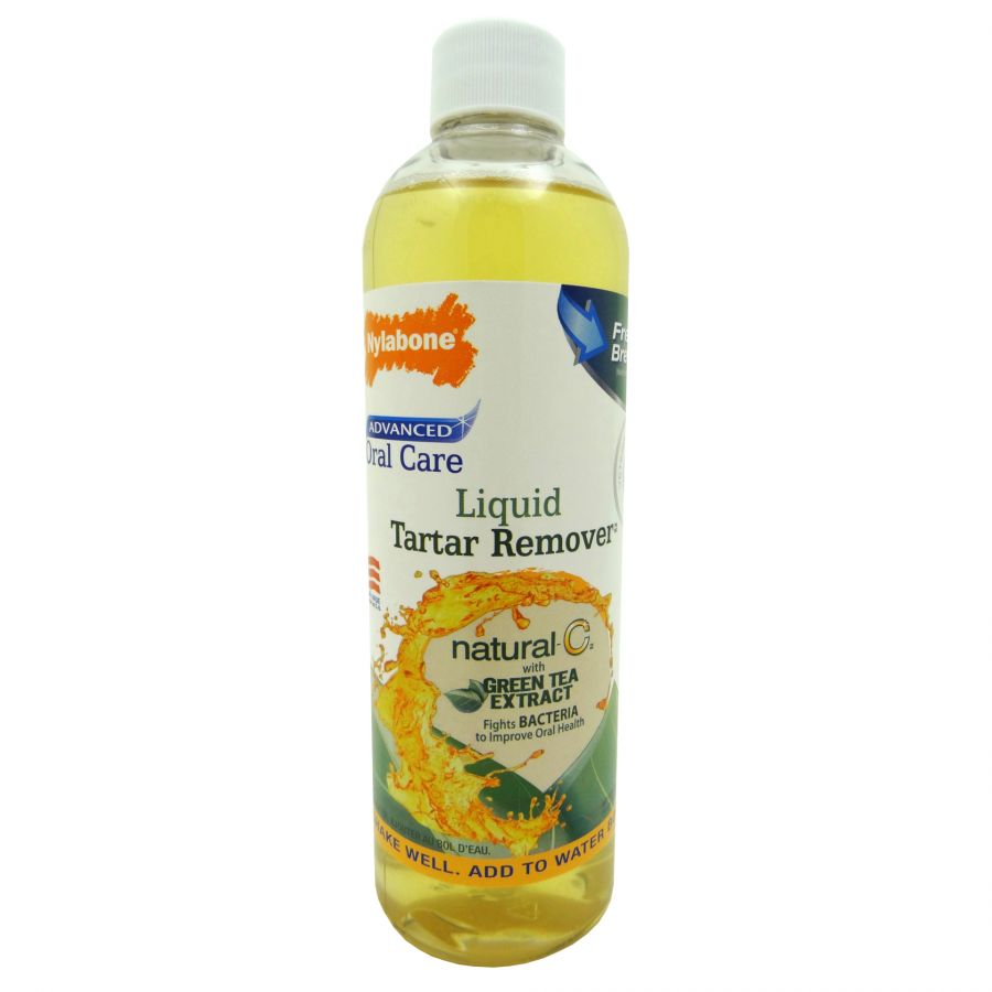 Nylabone Advanced Oral Care Liquid Tartar Remover with Green Tea Extract