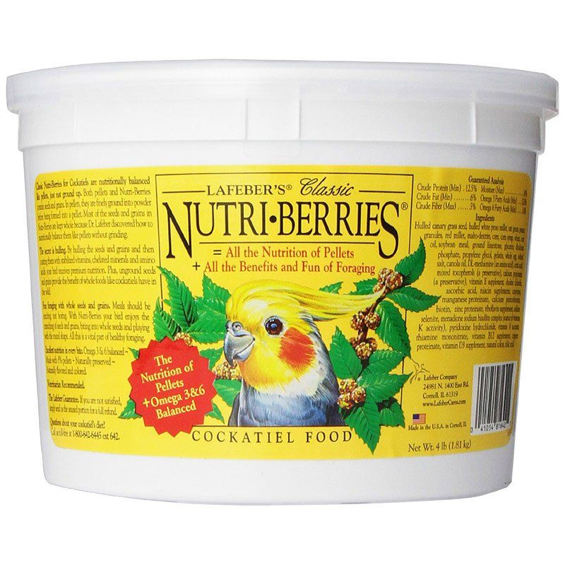 Lafeber Classic Nutri-Berries Cockatiel Food