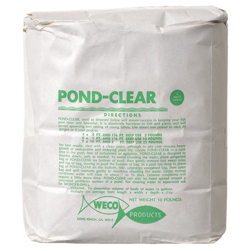 Weco Pond-Clear