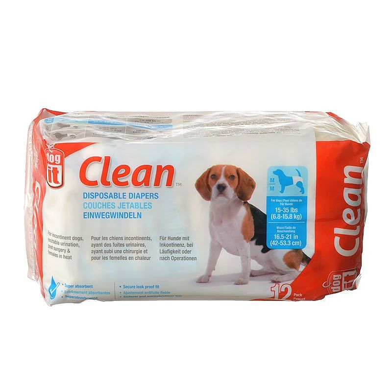Dog It Clean Disposable Diapers