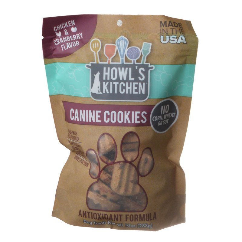 Howl's Kitchen Canine Cookies Antioxidant Formula - Chicken & Cranberry Flavor
