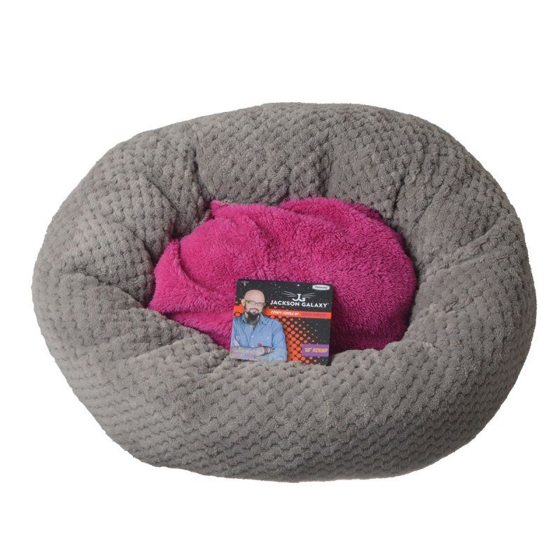 Petmate Jackson Galaxy Comfy Cuddle Up Cat Bed