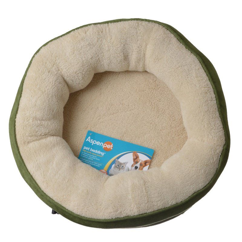 Aspen Pet Structured Round Pet Bed