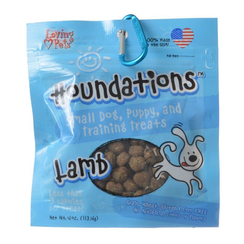 Loving Pets Houndations Training Treats - Lamb